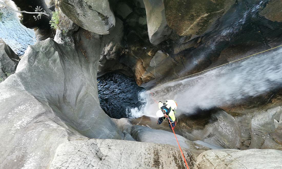 Canyoning Ticino, Svizzera